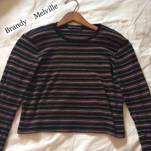 f65e611585 Brandy Melville Tops - Brandy Melville Santana Top